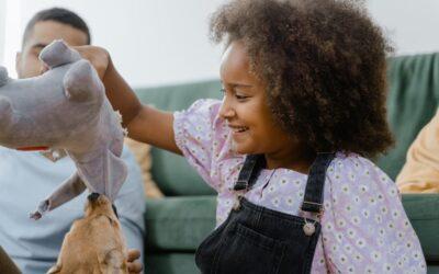Indretningen i børneværelset bør være i børnehøjde